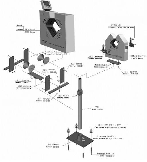 cjm9计米器接线图